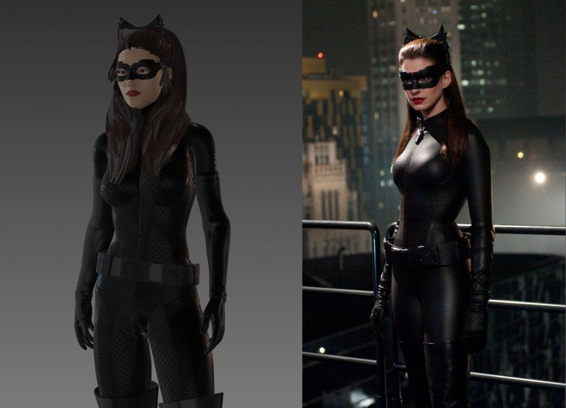 fbx catwoman dark knight rises