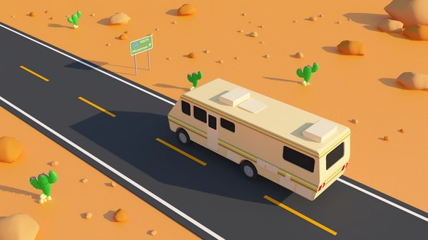 breaking bad rv scene 3d 3ds