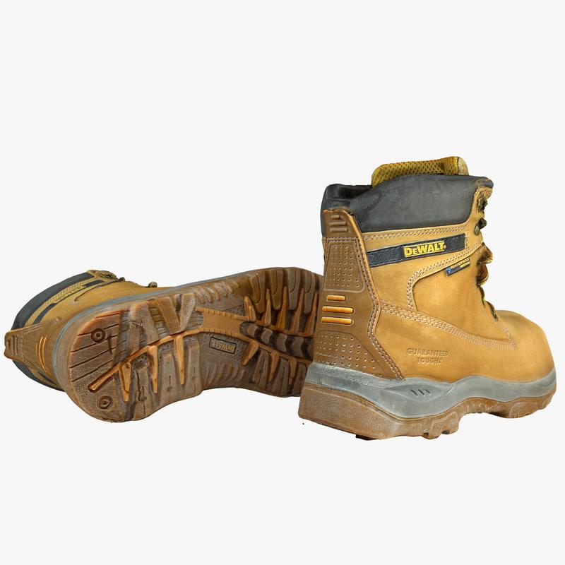 3d dewalt boot model
