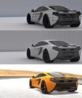 3d model ready mclaren mobile games