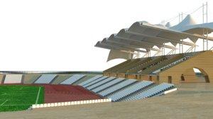 saida stadium 3d max