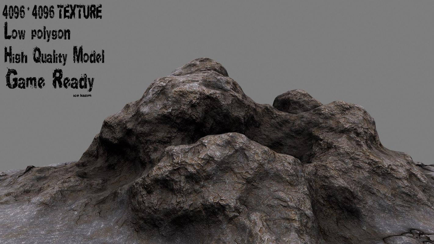 rock 3d 3ds