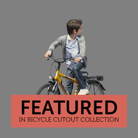 Bicycle Cutout 01