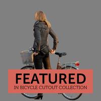 Bicycle Cutout 02