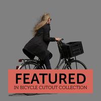 Bicycle Cutout 03