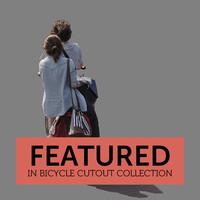 Bicycle Cutout 04