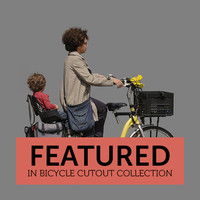 Bicycle Cutout 05