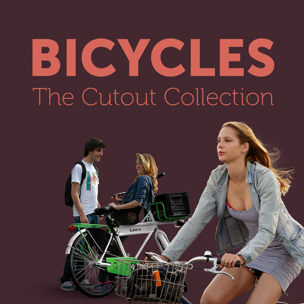 Cutout Bicycles Collection