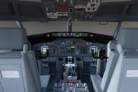3d model boeing 737 cockpit