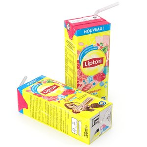 3d model ice tea
