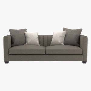 3d bernhardt noah sofa