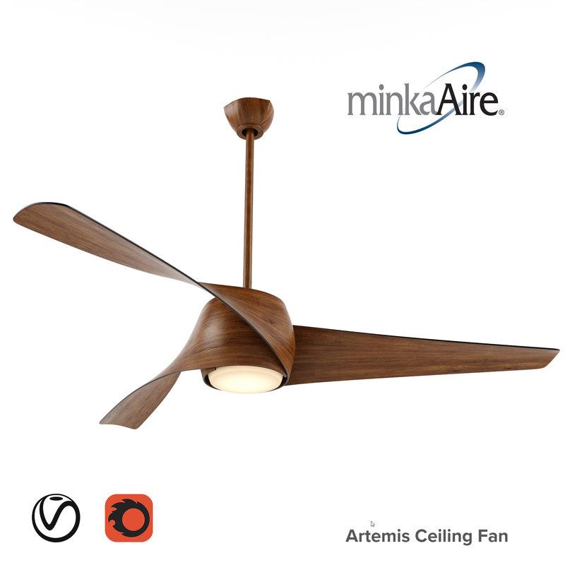 artemis ceiling fan max