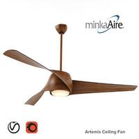 minka artemis ceiling fan max