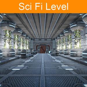 fbx sci fi level