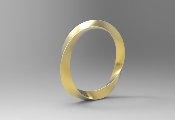 free obj mode print ring