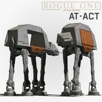 at-act walker 3d model