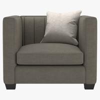 bernhardt noah chair 3d max