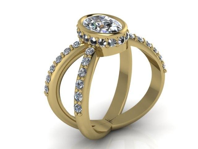 3d model ring 8