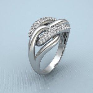 print silver gems 3d model