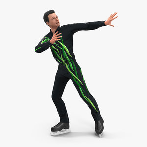 3d male figure skater 2