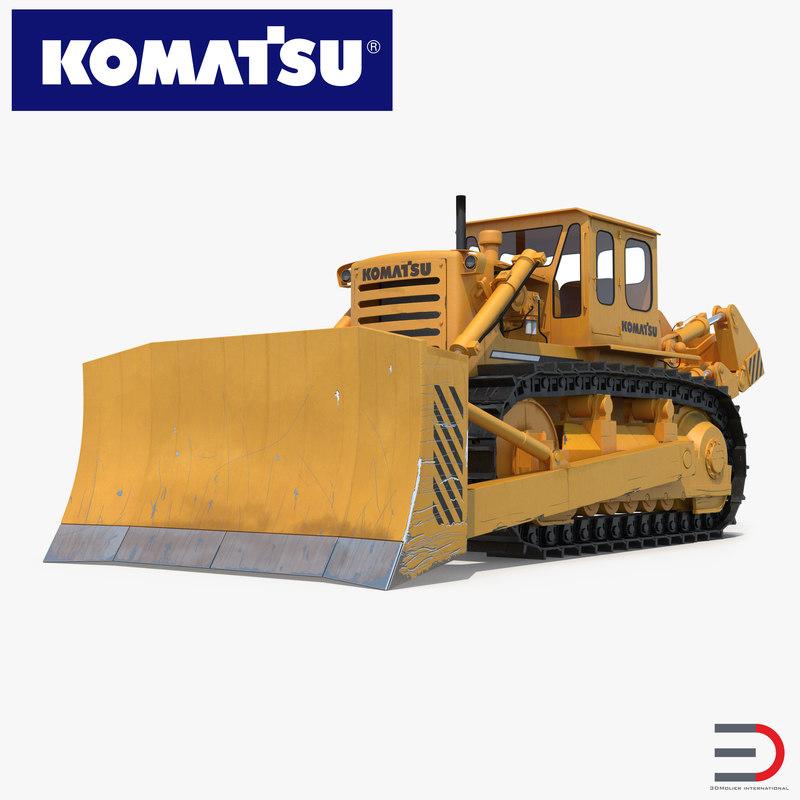 max bulldozer komatsu rigged