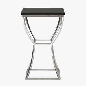 chairside table 3d model