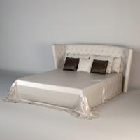 bed promemoria frou-frou 3d max