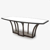 3d model meissen conference table dining room