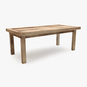 max mudo concept old dining table