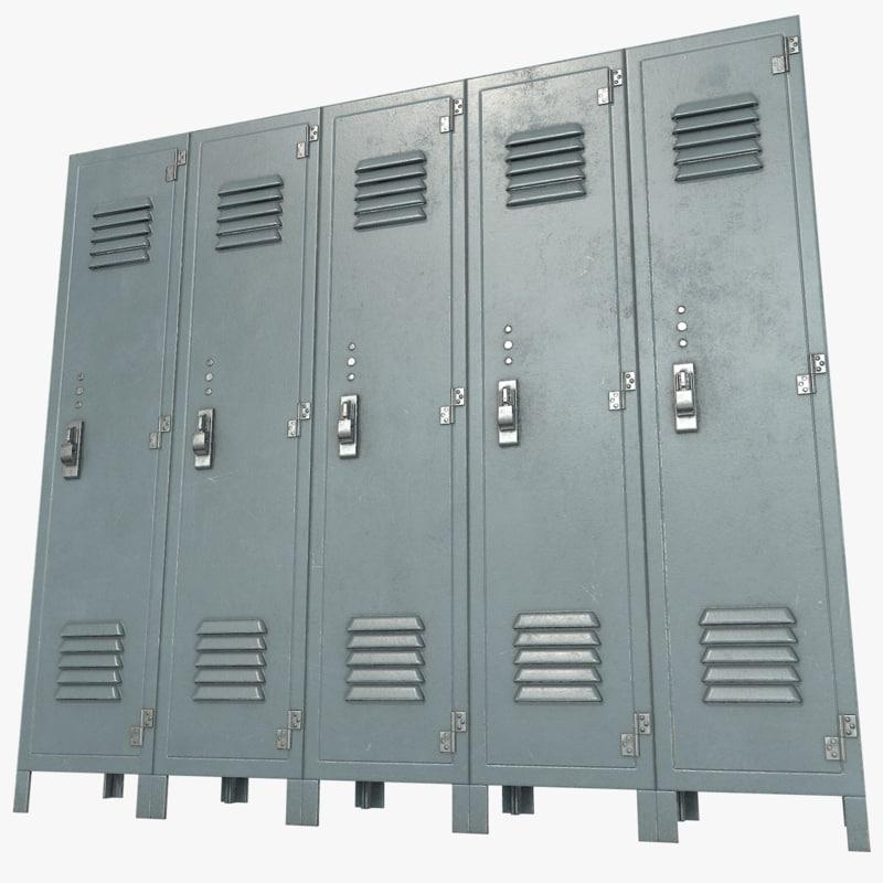 3d lockers games