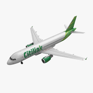 airbus a320 citilink 3d 3ds