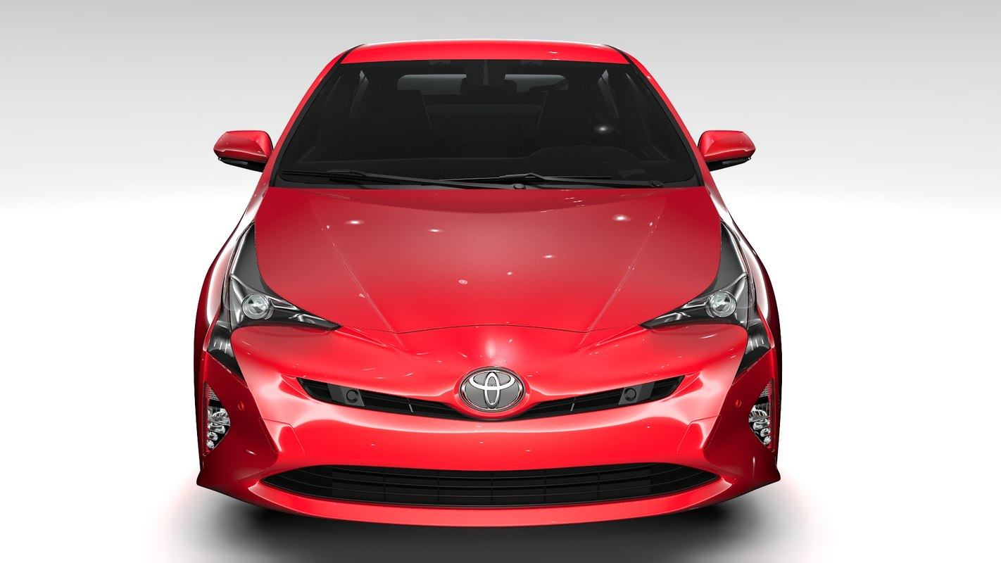toyota prius flying 2017 3d 3ds