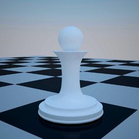 3d model of chess