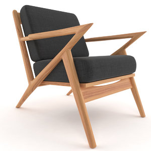 3d model soto chair