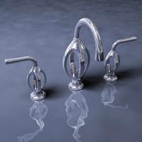 3d trope printed faucet