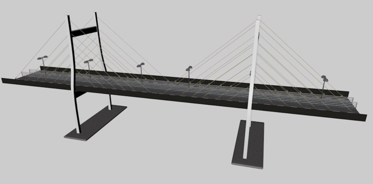 bridge 3d 3ds