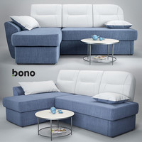 3d model sofa bono