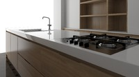 kitchen cabinets 3d max