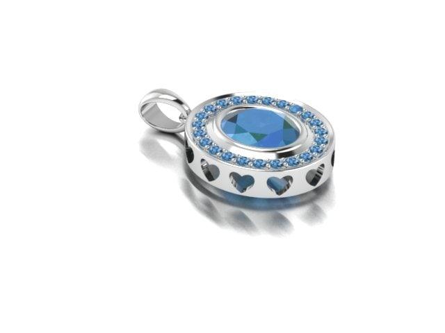 3d model of blue love