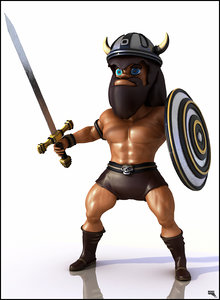 character rigged 3d fbx