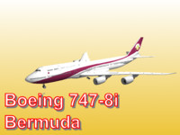 boeing 747-8i bermuda world 3d obj