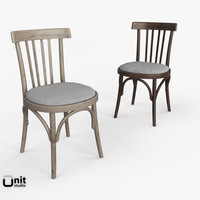 berlin bistro chair 3d model