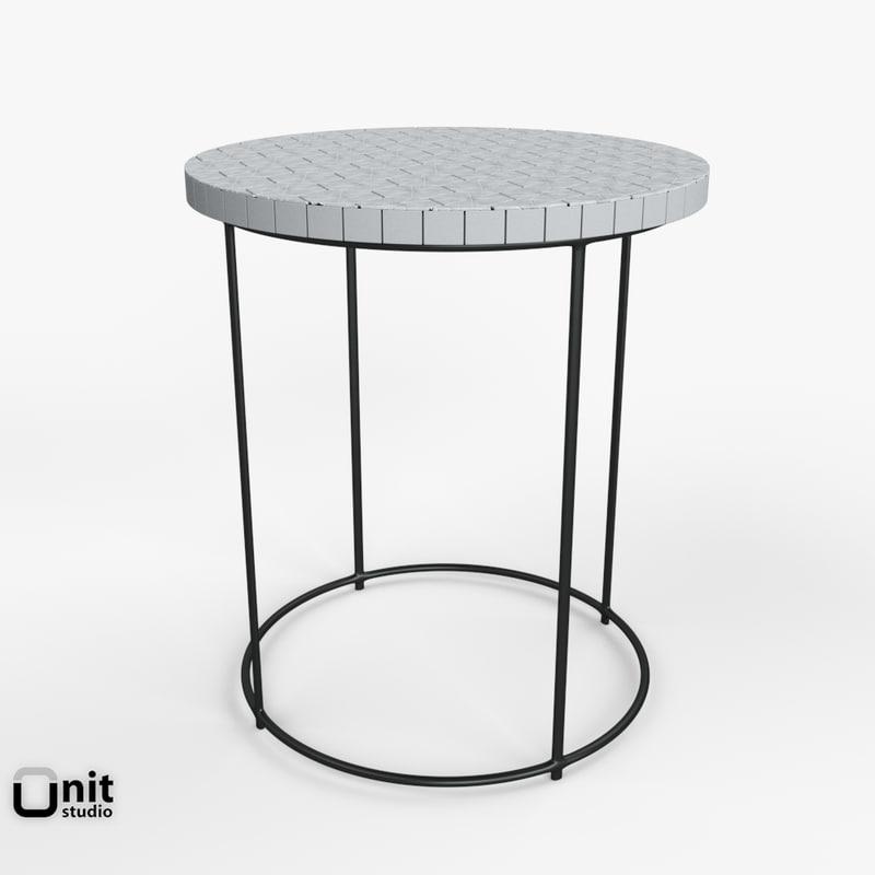 furniture tiles west elm 3d model