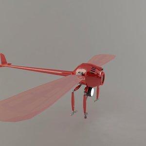 robo exploding 3d model