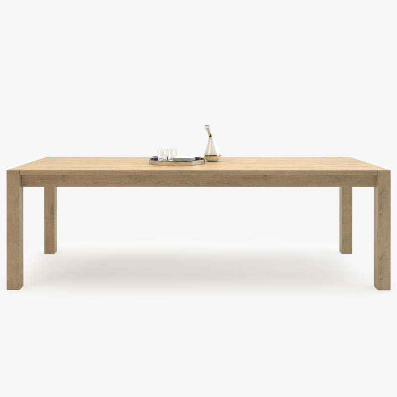 3d model madame lillie table