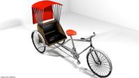 Rickshaw - Center-driver