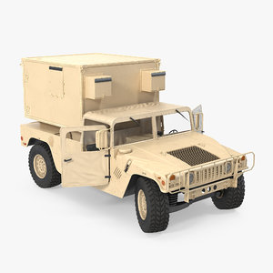 3d max shelter carrier mse hmmwv