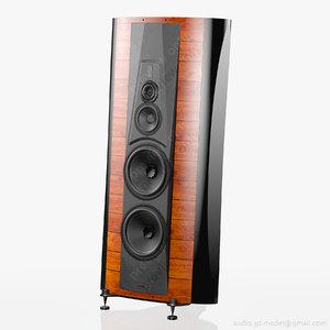 3ds floorstanding sonus faber stradivari