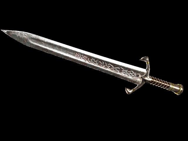 sword obj