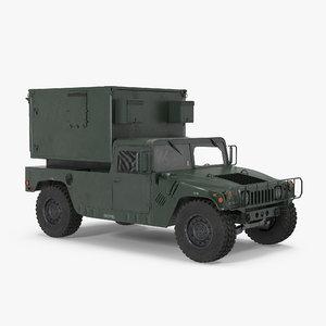 shelter carrier mse car 3d model